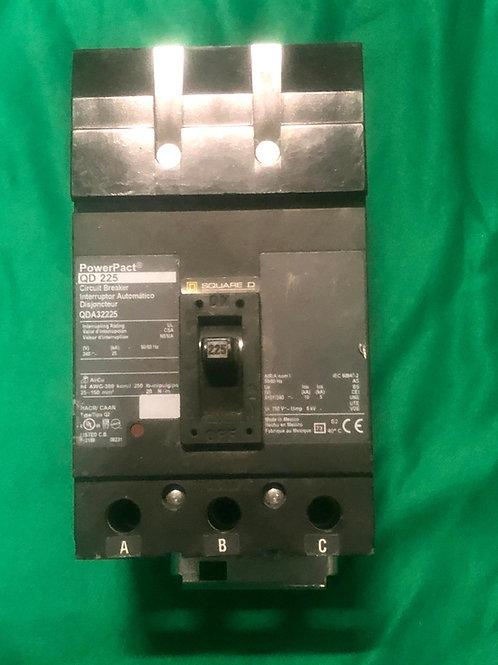 QDA32225 225 AMP 240 VOLT Circuit Breaker