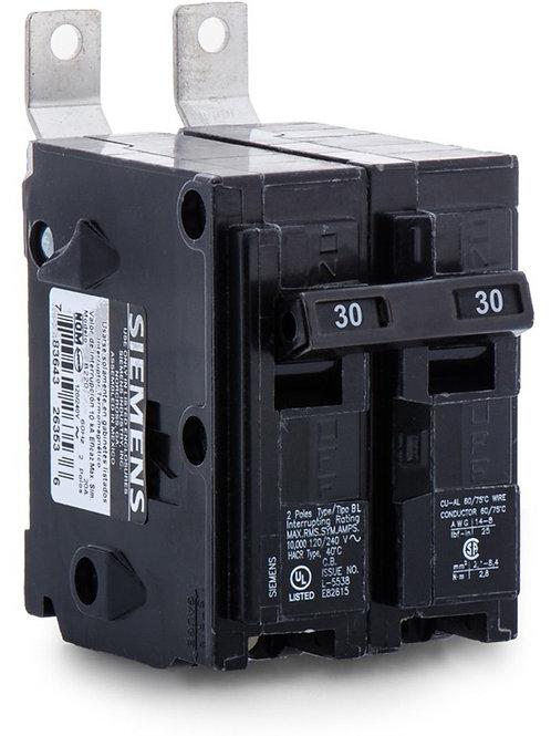 B230 30AMP 2-Pole Siemens Breaker