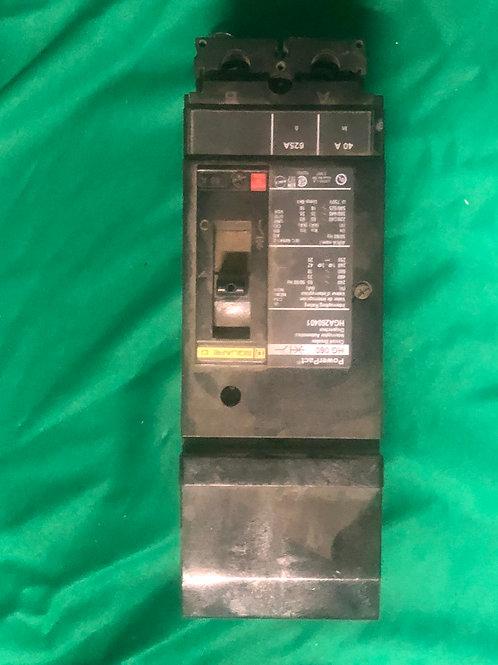 HGA260401 60 AMP 2 Pole 600 VOLT I-Line