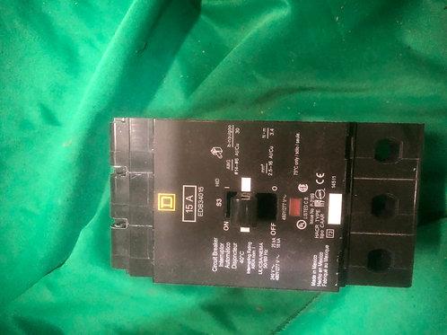 EDB34015 15 AMP Square D