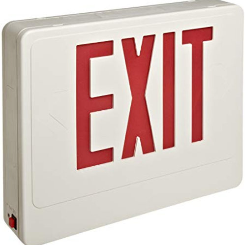 73022 Sign Red LED White