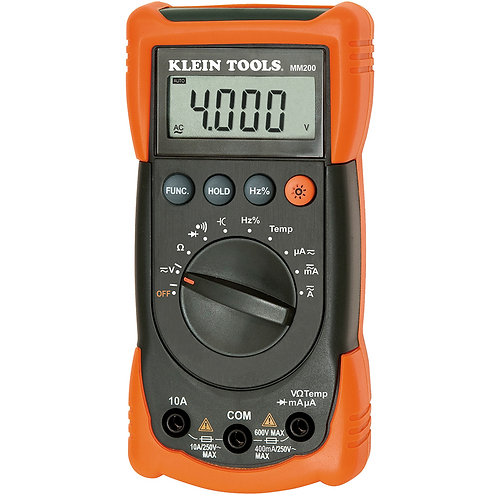 MM200-Auto Ranging Multimeter