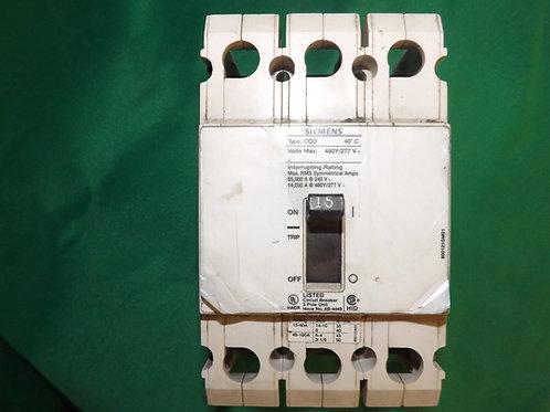 CQD215 480 VOLT 15 AMP 3-Pole