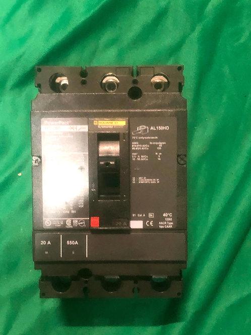 HDL36020 60 AMP Circuit Breaker