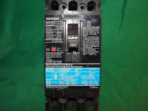 ED63B100 100 AMP 600 VOLT 3-Pole