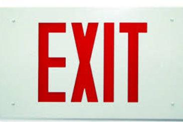 "ML-ES-6"" Exit Sign"