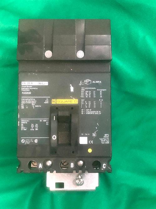 FA32020 20 AMP 240 VOLT Circuit Breaker