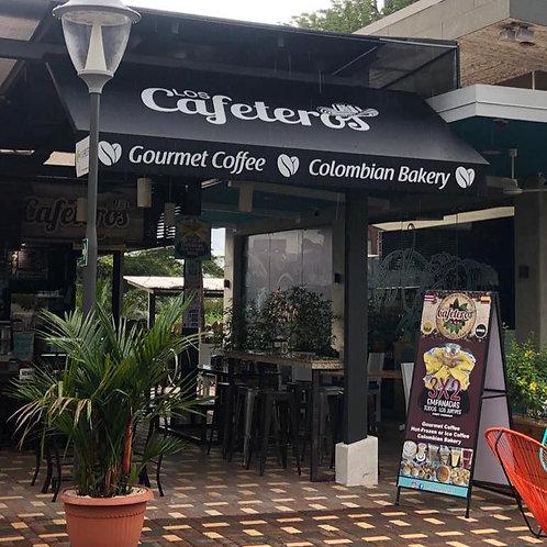 Los Cafeteros: 10% de Descuento en cafetería