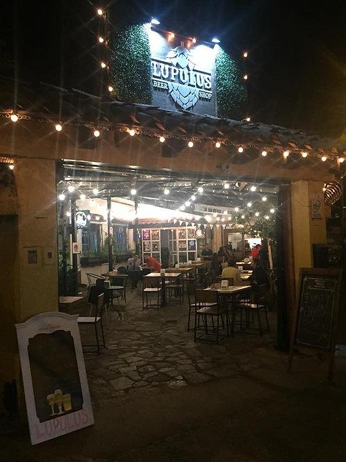 Lupulus Beer Shop: 15% de Descuento en alimentos y Bebidas