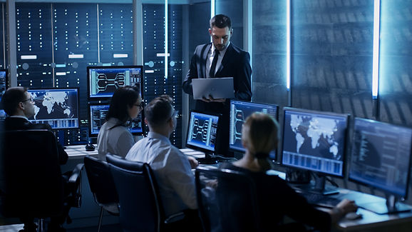 Professional IT Engineers Working in Sys