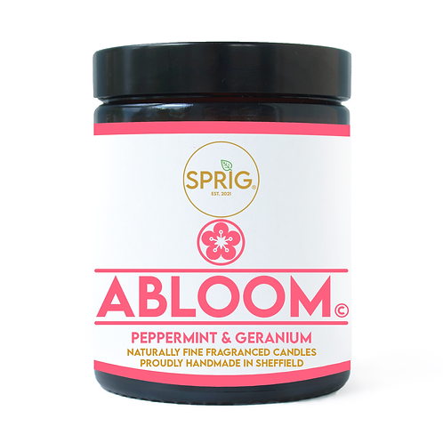 Abloom© 150g Natural Coconut Wax Blend Candle