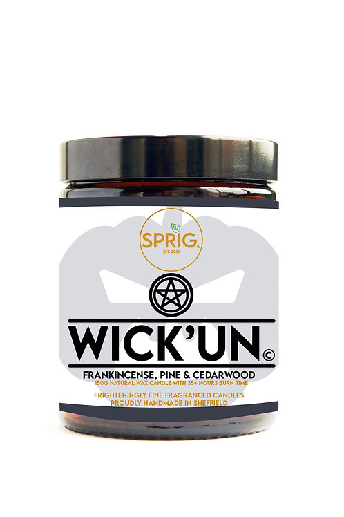 Wick'un© 60g Natural Coconut Wax Blend Candle