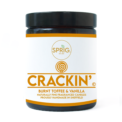 Crackin'© 150g Natural Coconut Wax Blend Candle