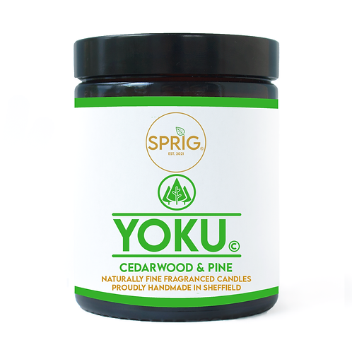 Yoku© 150g Natural Coconut Wax Blend Candle