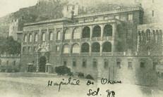 Imagem do Hospital Militar francês em Orã (Argélia) que recebeu os médicos brasileiros doentes de Gripe Espanhola