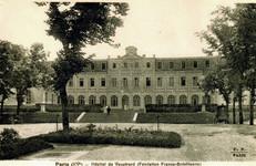 Postal do Hospital Militar Brasileiro de Paris, QG da Missão Médica