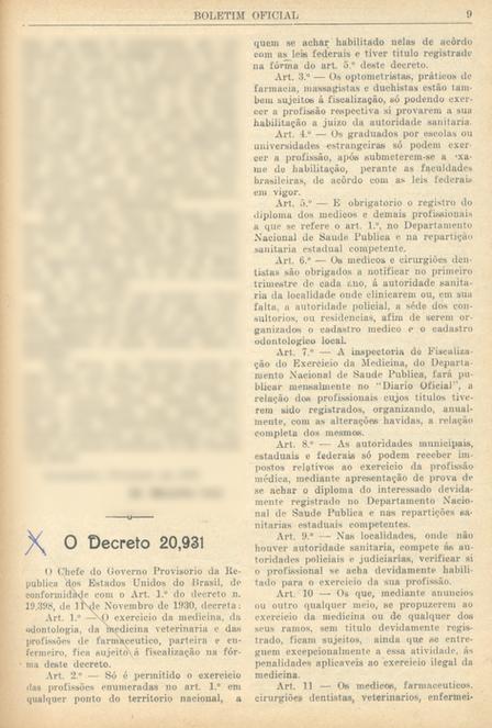 Decreto 20.931 de 1932