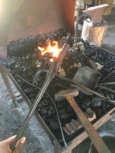 1st Day of Blacksmithing