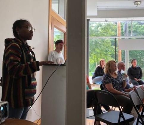 Artist Talk,North Main Gallery
