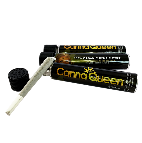 Canna Queen CBD Hemp Joint 3ct Bundle
