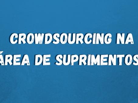 Crowdsourcing na Área de Suprimentos