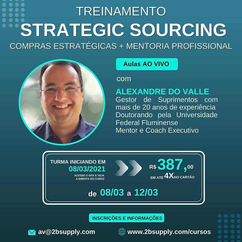 STRATEGIC SOURCING: Compras Estratégicas + Mentoria Profissional
