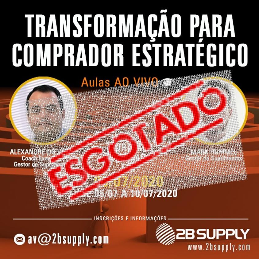 TRANSFORMAÇÃO PARA COMPRADOR ESTRATÉGICO