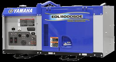 Yamaha EDL110SDE Diesel Generator