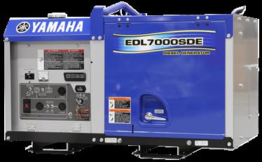 Yamaha EDL70SDE Diesel Generator