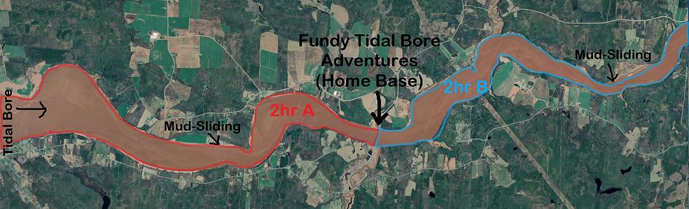 Shubie River Rafting Map.png