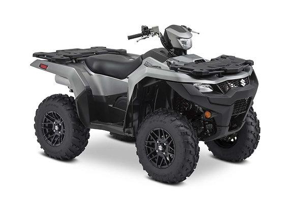 2021 Suzuki Kingquad LT-A500XPZSM1 Black Mag wheels