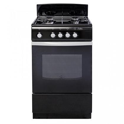 Газовая плита De Luxe 5040.38Г (Щ) черная