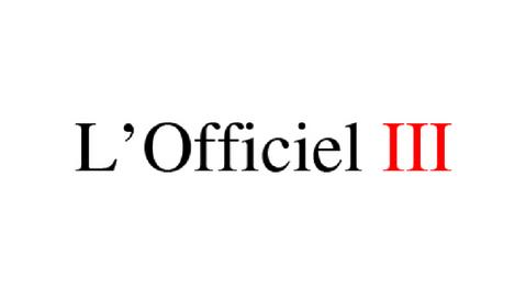 Lofficiel III