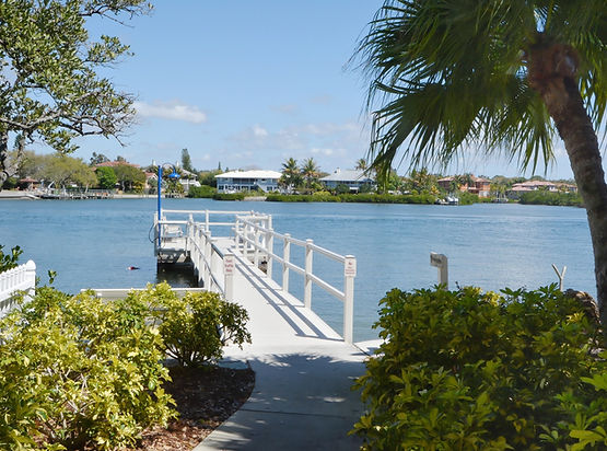 Polynesian Garden Community Dock