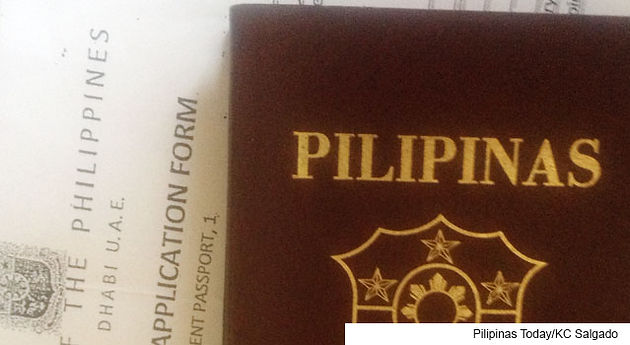 Online booking for passport appointment at Philippine