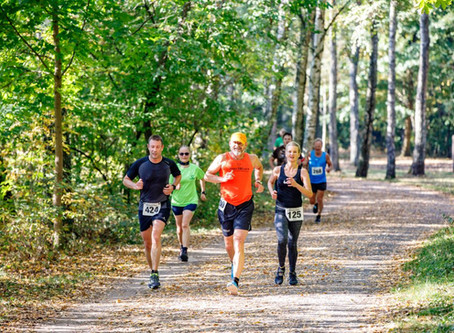 Halbmarathon in Hamburg Bramfeld am 14.10.2018