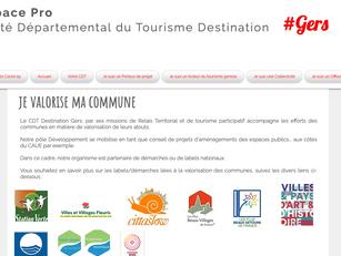 L'espace pro au service des collectivités : le CDT Destination Gers vous accompagne.