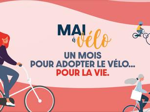 Participez à la 1ère édition de l'opération Mai à Vélo !