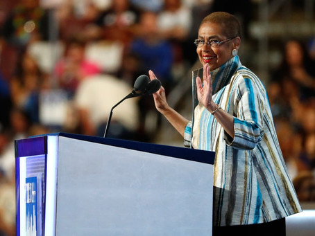 Why does Congresswoman Eleanor Holmes Norton Support the Long Walk?