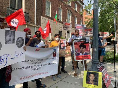 8/14 Protest Against Enforced Disappearances in Washington, D.C.