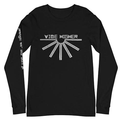 Vibe Higher   Unisex Long Sleeve Tee