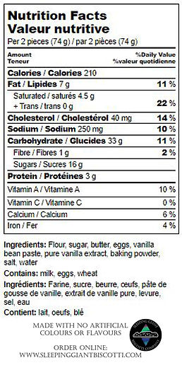 French Vanilla Nutrition Label.jpg