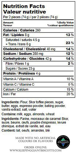 Sweet Java Nutrition Label.jpg