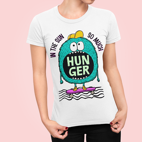In the Sun Hungry Monster Unisex Jersey Short Sleeve Tee