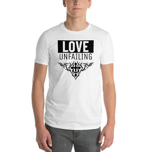 Love Unfailing Men's Short-Sleeve T-Shirt