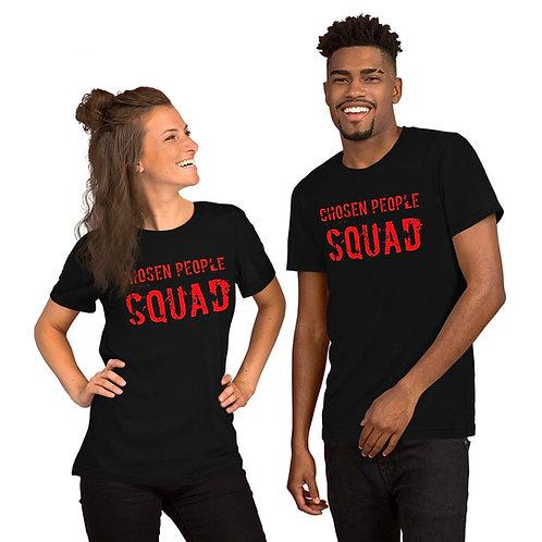 Chosen People Squad Red Sign Short-Sleeve Unisex T-Shirt