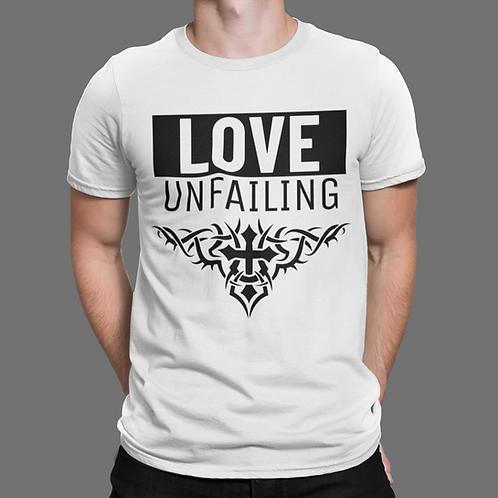 Love Unfailing Cross Short-Sleeve Unisex T-Shirt