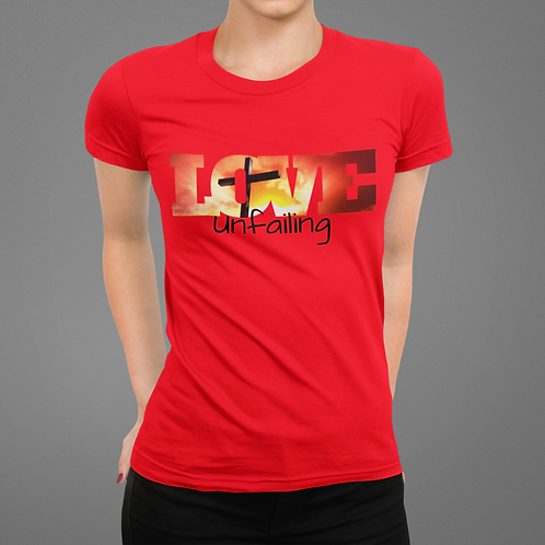 Love Unfailing Short-Sleeve Unisex T-Shirt