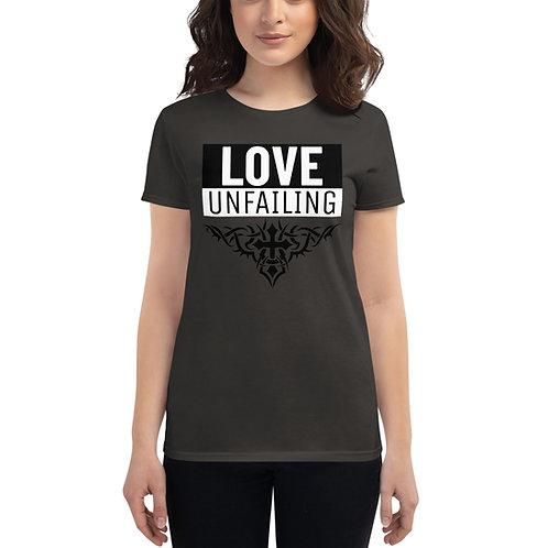 Love Unfailing Women's short sleeve t-shirt