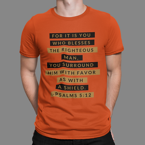 Psalms 5:12 Short-Sleeve Unisex T-Shirt